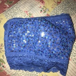 Victoria Secret Blue Bandeau